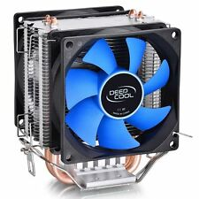 New DeepCool Dual Fan CPU Quiet Cooler Heatsink For Intel LGA115X/775 and AMD
