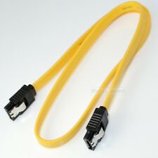 1.7ft 0.5m SATA TO SATA Yellow External Shielded Cable