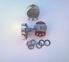 A250K B250K 3 pot set fr Fender Stratocaster/Jazz Bass guitar 250K potentiometer