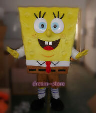 【SALE】 New Spongebob Squarepants Cartoon Costume Mascot Fancy Dress Adult Size