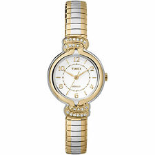 Timex Women's Anna Avenue | Two-Tone w Swarovski Crystals Dress Watch TW2P61200