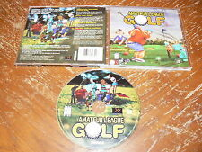 Amateur League Golf PC CD-ROM Simon & Schuster Hypnotix 2000 for Windows 95/98