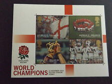 GB QEII MNH STAMP SHEET 2003 Rugby World Cup Champions England MNH SG MS2416