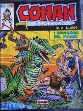 CONAN Il Barbaro n°2 1989 COLORE ed. Comic Art   [G331]