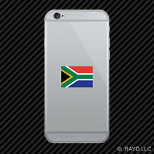 South African Flag Cell Phone Sticker Mobile Die Cut south africa