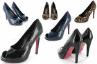 WOMENS NEW STILETTO PEEP TOE SHOES LADIES HIGH HEELS COURT SHOES SIZES 3-8