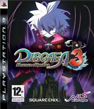Disgaea 3 Absence of Justice playstation 3 PS3 NUOVO