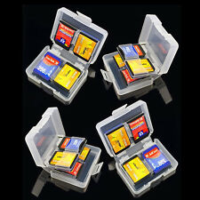 SD SDHC Memory Card Case Holder - Hard Protective Box for 16gb 32gb 64gb
