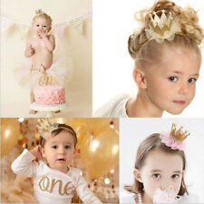 Kids Baby Girl Toddler Cute Lace Crown Hair Band Headwear Headband Accessories