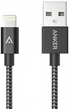 Anker 6-Feet Nylon Braided USB Cable with Lightning Connector for iPhone iPad