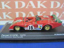 Die cast 1/43 Ferrari 312PB 24H Le Mans 1973 A.Merzario by Ixo