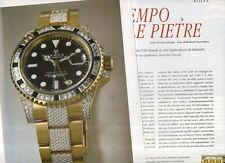 SP95 Clipping Ritaglio 2007 Rolex Oyster Perpetual GMT Master II