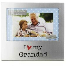 I Love My Grandad Aluminium Photo Frame FA518GD