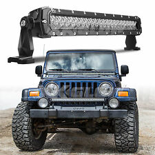100W 20 inch LED light Bar for OffRoad Rock Crawler Low Rider Search and Rescue