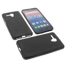 Tasche für Alcatel One Touch Pop 3 5.5 Handytasche Schutz Hülle TPU Case Schwarz
