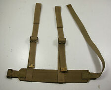 WW2 ISSUE DROP BELT LEG RIG FOR WEBLEY LEG HOLSTER RAC TANK & AIRBORNE D1942/43