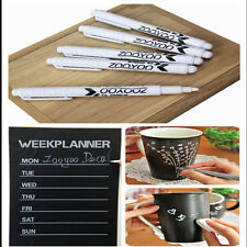3 pcs White Liquid Chalk Pen/Marker for Glass Windows Chalkboard Blackboard COH