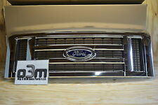 2008-2009 Ford Econoline Front Chrome Grille w/ Emblem new OEM 9C2Z-8200-AA