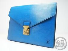 """Sale!"" AUTH PRE-OWNED LOUIS VUITTON EPI PORTE-DOCUMENTS SENATEUR M54455 162078"