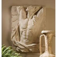 The Torso of Adonis Frieze Wall Sculpture Perfect Man Greek God
