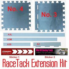 Extension Kit for 1/43 RC Mini Racing Car Racetrack to 7' x 9' - Build your own