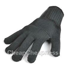 1 Pair Safety Cut-Resistant Stainless Steel Wire Metal Mesh Protective Gloves MW