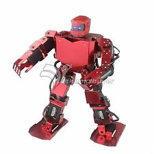 16DOF Robo-Soul H3.0 Biped Robtic Two-Legged Human Robot w Servo & Helmet Red