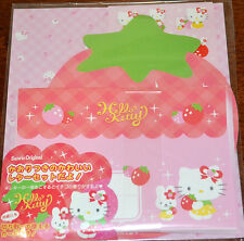 Sanrio Hello Kitty JAPAN 2009 Strawberry Letter Stationery Set New in Packaging