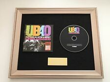 SIGNED/AUTOGRAPHED UB40 - UNPLUGGED FRAMED CD PRESENTATION.ALI, ASTRO & MICKEY