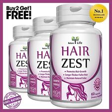 All Natural Herbal Hair Growth Supplement For Longer, Stronger, Healthier Hair