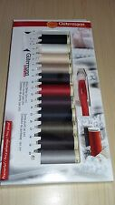 New-Gutermann Threads-13pc Sew All Thread Collection with Mini Seam Fix & Gauge