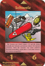Illuminati inwo CARD Svizzera-SWITZERLAND German Limited MINT 06