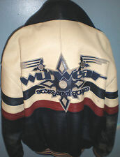 WU TANG CLAN VINTAGE (ORIGINAL ONE OF KIND) LEATHER JACKET SZ XL 1995 WU WEAR