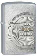 Zippo 28423 chevy spoke wheel herringbone sweep full size Lighter