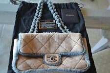 Chanel Quilted suede and shearling flap bag. AMAZINGLY ADORABLE!!!