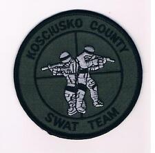 U.S.A. KOSCIUSKO COUNTY POLICE SWAT TEAM POLICIA