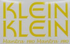 KLEIN Mantra Pro Paint Mask Decals ~ Klein Mantra Pro De-Boss Decals
