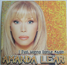 "AMANDA LEAR - CD SINGLE ""I JUST WANNA DANCE AGAIN"""