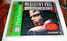 PS1 Resident Evil:Director's Cut:Greatest Hits (Sony PlayStation 1,1998) SEALED