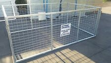 Trailer Cage Crate 8x5x3 Pre Order 60 days delivery