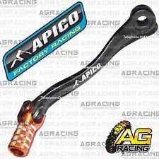 Apico Black Orange Gear Pedal Lever Shifter For KTM SX 85 2012 Motocross Enduro