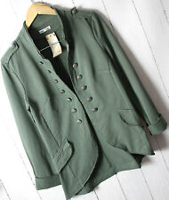 ITALY Sweat Cardigan Jacket Green Admiral New size XXL Vintage