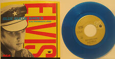 "Elvis Presley ""Blue Suede Shoes"" Blue Vinyl 45rpm w/ PS  NM Cond Store Stock"