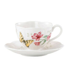 Lenox Butterfly Meadow Tiger Swallow Tail China Cup & Saucer NEW  17720