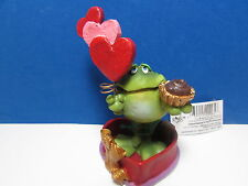 RUSS VALENTINES TOADILY TOAD/FROG - Hearts & Candy