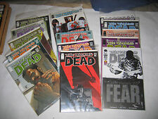 Walking Dead 14 15 21 22 23 24 25 28 32 33 34 39 40 41 100 SDCC Lot of 15 VF/NM