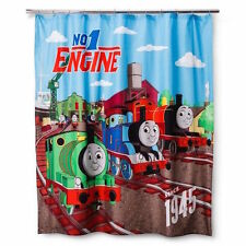 "THOMAS THE TANK AND FRIENDS - STANDARD 'FUN' SHOWER CURTAIN 70"" X 72"" **NEW**"
