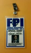 X-files TV Series ID Badge-Agent Miller Miniseries costume prop cosplay