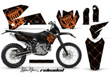 AMR Racing KTM C4 EXC/SX/MXC/SMR Graphic # Plate Kit MX Bike Decal 05-07 RLOAD O