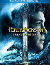 Percy Jackson: Sea of Monsters (Blu-ray/DVD, 2013, 2-Disc Set) NEW